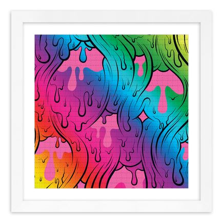 Buff Monster Art Print - Infinite Gradient - Blotter Edition