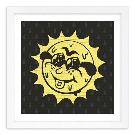 Jesse Kassel Art Print - Trippy Sun - Blotter Edition
