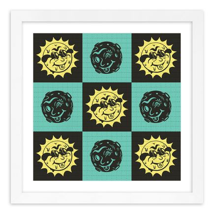 Jesse Kassel Art Print - Sun/Moon Grid - Blotter Edition