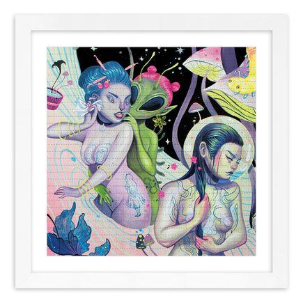 Lauren YS Art Print - Onsen Psychedelica I - Blotter Edition