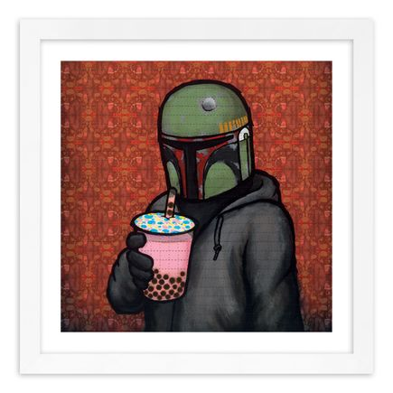 Luke Chueh Art Print - Boba - Something In The Tea - Blotter Edition