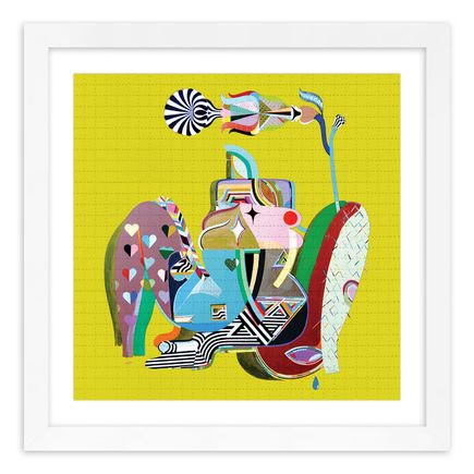 MCXT (Monica Canilao + Xara Thustra) Art Print - Flower Baby - Blotter Variant