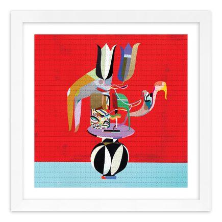 MCXT (Monica Canilao + Xara Thustra) Art Print - Petal Pusher - Blotter Variant