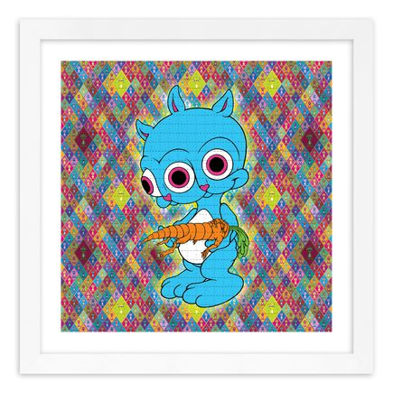 Ron English Art Print - Rabbbit - Blotter Edition