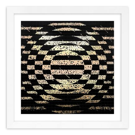 Said Dokins Art Print - Carpella II - Black - Blotter Variant