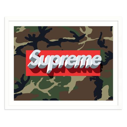 James Lewis Art Print - 3D Supreme - Camo Edition