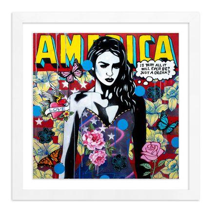 Copyright Art Print - America