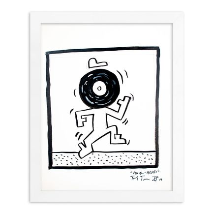 Sheefy Original Art - Vinyl-Head