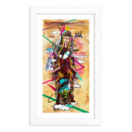 Marka27 Art Print - Childhood Heroes - Hand-Embellished Prints