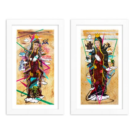 Marka27 Art Print - 2-Print Set - Childhood Heroes + Childhood Villains