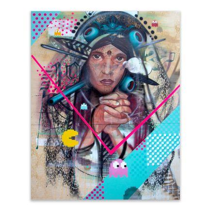 Marka27 Original Art - RETRO PRAYER - Original Artwork