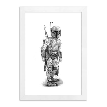 Matt Gordon Art Print - Boba Fett
