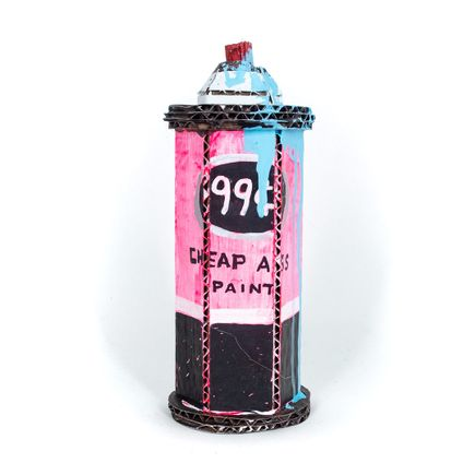 Bill Barminski Original Art - Spray Can 01