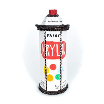 Bill Barminski Original Art - Spray Can 03