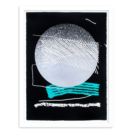 Erik Otto Art Print - Silver Moon - Standard Edition