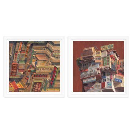 Cinta Vidal Art Print - 2-Print Set - HongKong + Kobe