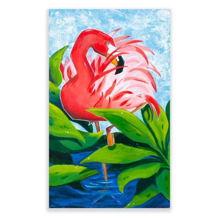 Ed Irmen Original Art - You're A Flamingo Baby