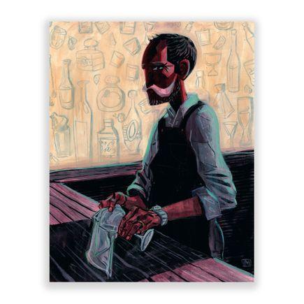 Ivan Montoya Original Art - El Cantinero