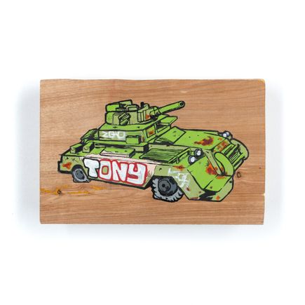 Nick Pizana Original Art - Tanking