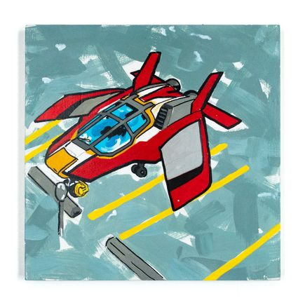 Nick Pizana Original Art - Flight: Grounded