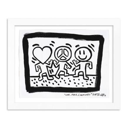 Sheefy Original Art - Love, Peace and Happiness  - Original Artwork