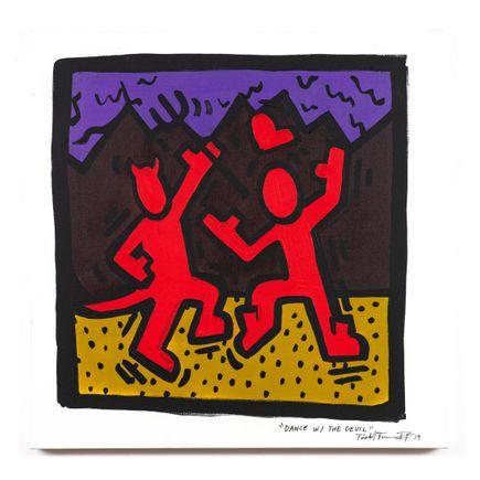 Sheefy Original Art - Dance With The Devil - Original Artwork