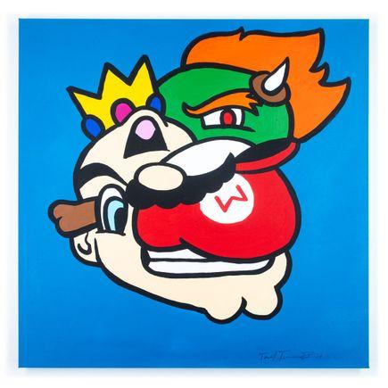 Sheefy Original Art - Mario Smashup - Original Artwork