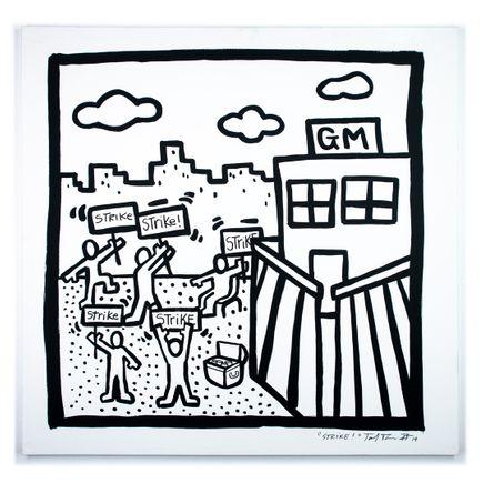 Sheefy Original Art - Strike! - Original Artwork