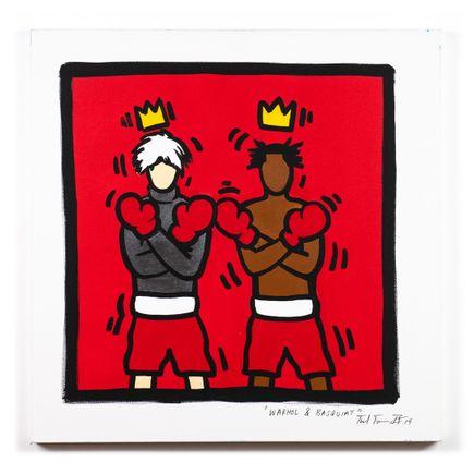 Sheefy Original Art - Warhol & Basquiat - Original Artwork
