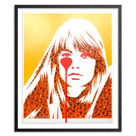 Pure Evil Art Print - 03 Hand-Finished Variant - Françoise Hardy - Jacques Dutronc's Nightmare - Endless Summer Edition