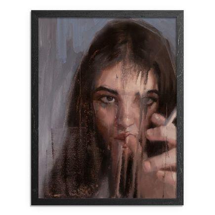 Adam Caldwell Original Art - Ivanna I - Framed Original Artwork