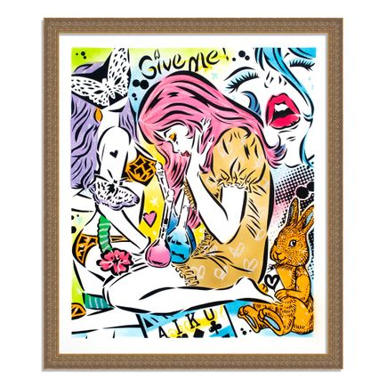 Aiko Art Print - Emotions - Hand-Painted Multiple - 03