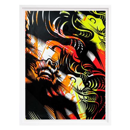 ASVP Art Print - Triple Crown - Red, Yellow & Orange Edition