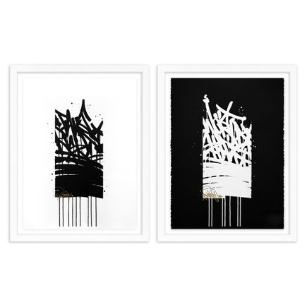 Bisco Smith Art Print - 2-Print Set - Take Risks + World Shift - Standard Editions