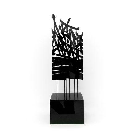 Bisco Smith Art - World Shift - Acrylic Sculpture