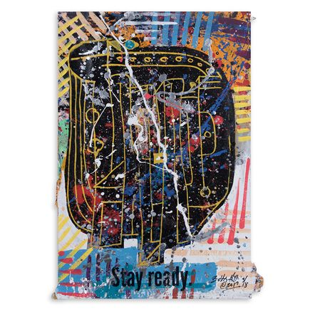Bobby Hill Original Art - Stay Ready III