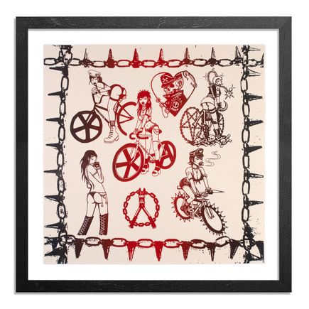 Caroline Caldwell Art Print - Biker Babez - Printer's Select Edition