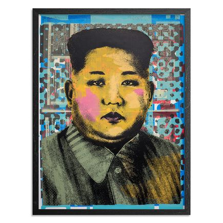 Cash For Your Warhol Art Print - Monoprint III - CFYW Kim Jong-un