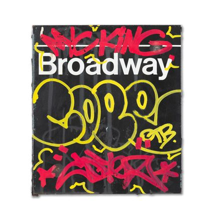Cope2 Original Art - NyC King - Broadway - Original Artwork