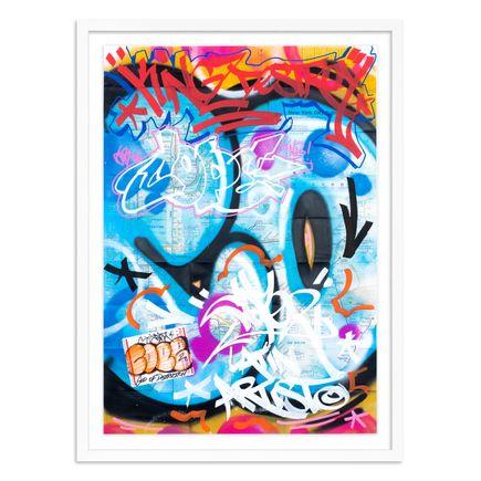 Cope2 Original Art - 03 - New York City Subway Map V - Original Artwork