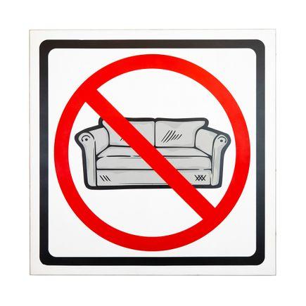 Denial Original Art - Fuck Your Couch - Original Artwork