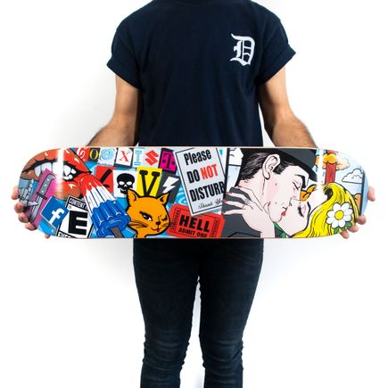 Denial Art Print - Please Do Not Disturb - Skate Deck Variant