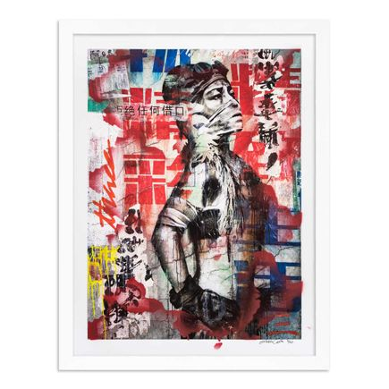 Eddie Colla Art Print - 3 of 40 - Without Excuse - Hand-Embellished Edition