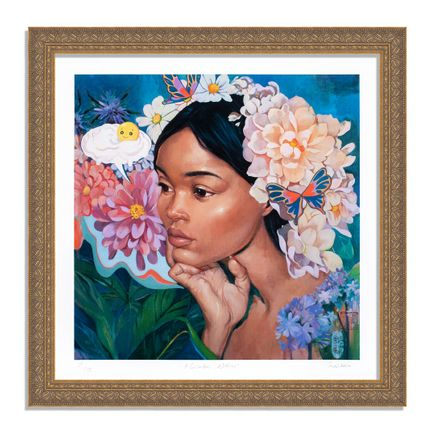 Helice Wen Art Print - A Garden Within - Hand-Embellished Edition - Variant III