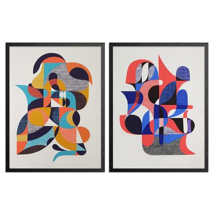 Jessie & Katey Art Print - 2-Print Set - Now That's What I Call A Screen Print - Volume I & II