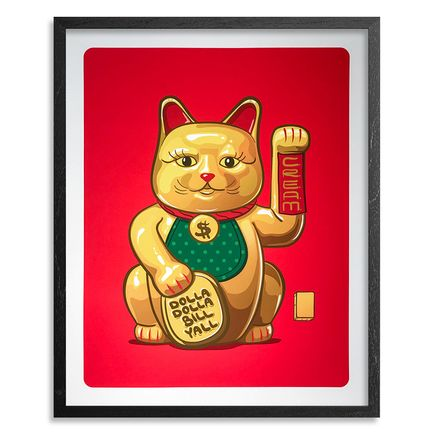 Mark Sarmel Art Print - Lucky Cat - Gold Edition
