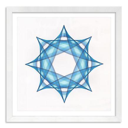 Mary Wagner Original Art - Blue Figure - Original Artwork