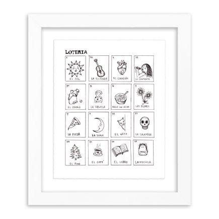 Melissa Villaseñor Art Print - Loteria