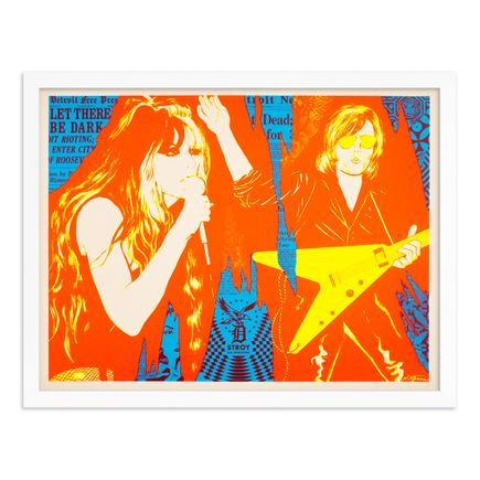Niagara x Shepard Fairey Art Print - Let There Be Dark - Day-Glo Edition