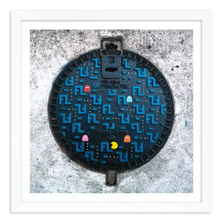 OakOak Art Print - 3 of 15 - Pac Man: Level I - Hand-Painted Multiples